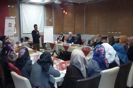 دورات تدريبية  لتعزيز مشاركة النساء في انتخابات المجالس المحلية
