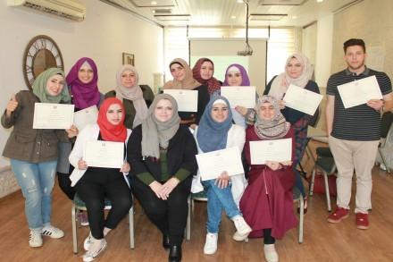 اختتم طاقم شؤون المرأة اول امس الورشة التدريبية المتخصصة في رام الله والتي تستهدف الإعلاميات والاعلاميين تحت عنوان ' تطوير الخطاب الإعلامي حول قضايا العنف ضد المرأة،