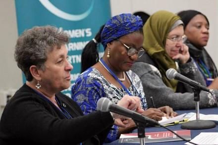 طاقم شؤون المرأة  يشارك في أعمال الدورة الثانية والستين للجنة وضع المرأة في مقر الأمم المتحدة بنيويورك